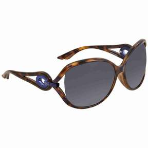 Christian Dior Grey Gradient Round Sunglasses VOLUTE/2/F/S 0NB7
