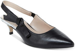 Nanette Lepore Nanette by Rhona Slingback Kitten Heels, Created for Macy's Women's Shoes