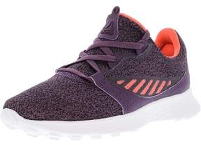Reebok Women's Elle Hthr Meteorite / Black Coral Purple Ankle-High Running Shoe - 8.5M