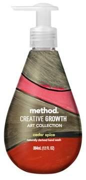Method Products Creative Growth Limited Edition Gel Hand Soap Cedar Spice - 12 fl oz