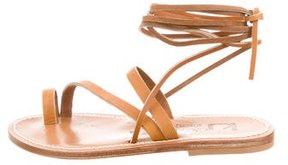 K Jacques St Tropez Ellada Wrap-Around Sandals w/ Tags