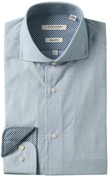Isaac Mizrahi Slim-Fit Dress Shirt