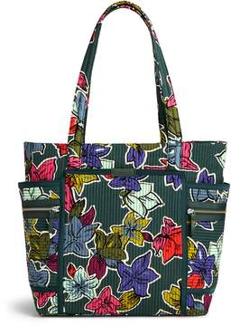 Vera Bradley Iconic Deluxe Vera Tote - FALLING FLOWERS - STYLE