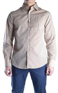 Mauro Grifoni Men's Beige Cotton Shirt.