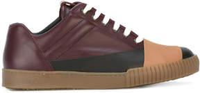 Marni colourblock lace-up sneakers
