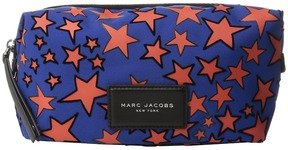 Marc Jacobs Flocked Stars Printed Biker Large Landscape Pouch