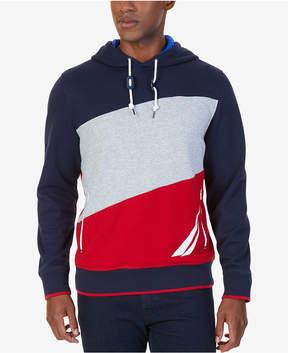 Nautica Men's Big & Tall Colorblocked Hoodie