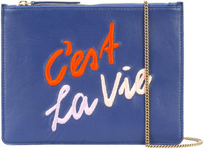 Lizzie Fortunato Jewels Cest La Vie clutch