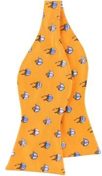 Tommy Hilfiger Mens Jocky Hat Bow Tie Orange One Size