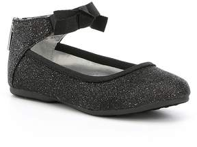 Kenneth Cole New York Girls Rose Bow Ballerina Shoes