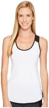 Blanc Noir Mesh Back Tank Women's Workout