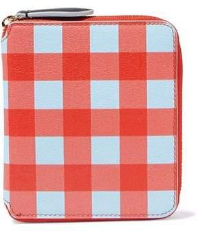 Diane von Furstenberg Gingham Leather Wallet