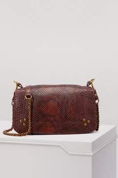 Jerome Dreyfuss Bobi python crossbody bag