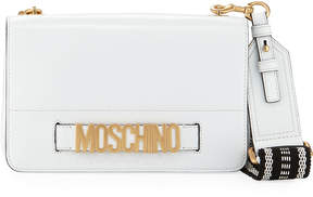 Moschino Smooth Leather Crossbody Bag