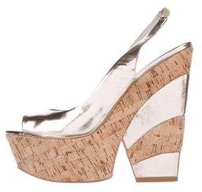 Alice + Olivia Platform Slingback Sandals