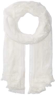Collection XIIX Paisley Lace Wrap Scarves
