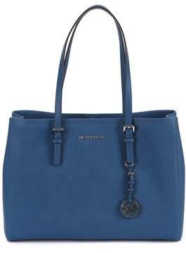 Michael Kors Jet Set Travel Lg Bag - STEEL-BLUE - STYLE