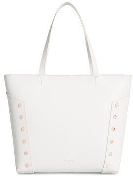 Ted Baker Tamiko Studded Leather Shopper - Grey