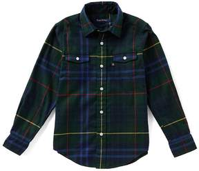 Brooks Brothers Little/Big Boys 4-20 Flannel Plaid Button-Down Shirt
