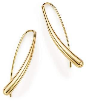 Bloomingdale's 14K Yellow Gold Long Tear Drop Earrings - 100% Exclusive