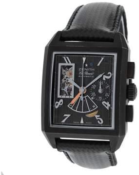 Zenith El Primero Port Royal Open T Concept 96.0540.4021/77.C550 PVD Coated Titanium 34mm Mens Watch