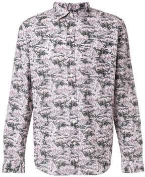 Closed palm print shirt