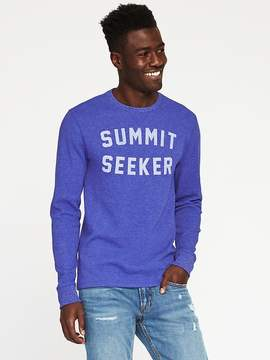 Old Navy Graphic Thermal Tee for Men