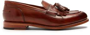 Grenson Mackenzie leather tassel loafers