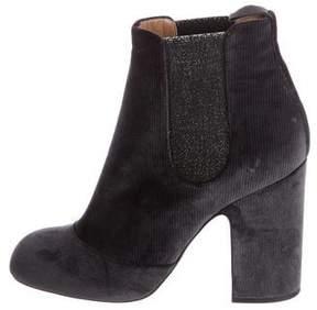 Laurence Dacade 2017 Mila Velvet Ankle Boots