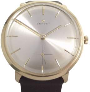 Zenith 18K Yellow Gold Vintage 35mm Mens Watch