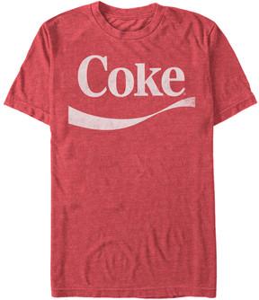 Fifth Sun Red Heather 'Coke' Swoosh Tee - Men