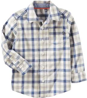 Osh Kosh Oshkosh Bgosh Toddler Boy Button Down Shirt
