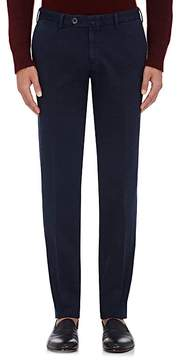 Isaia Men's Cotton Twill Trousers