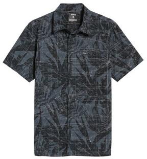Hurley Men's Maps Woven Shirt