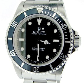Rolex Submariner 14060 Stainless Steel With Black Dial & Bezel 40mm Mens Watch