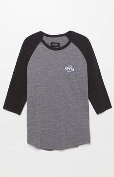 Brixton Garth Raglan 3/4 Sleeve T-Shirt
