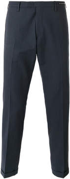 Pt01 straight leg tailored trousers