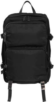 Prada Multi Pockets Nylon Backpack