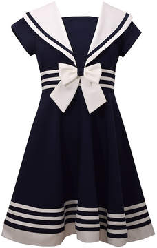 Bonnie Jean Sailor Dress - Girls 7-16 and Plus