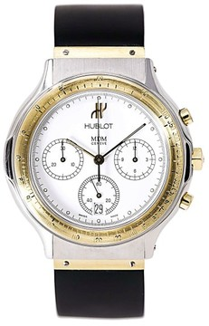 Hublot MDM Chrono Classic 1620.2 Stainless Steel / 18K Yellow Gold & Rubber Automatic 38mm Mens Watch