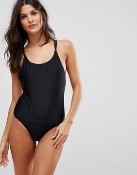 Brave Soul Scoop Neck Swimsuit