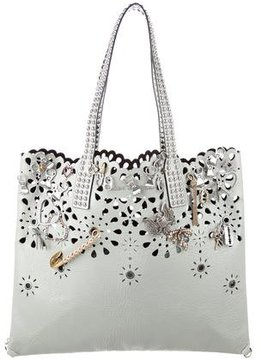 Marc Jacobs Wingman Embellished Tote - GREEN - STYLE