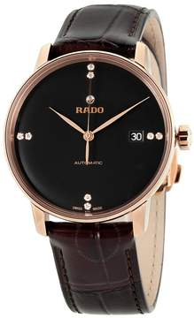 Rado Coupole Classic Black Dial Automatic Unisex Watch