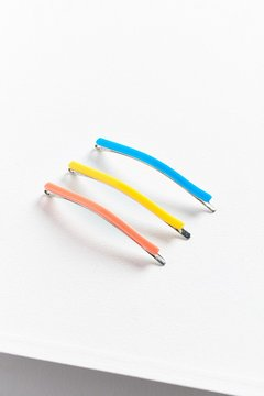 Urban Outfitters Electric Enamel Bobby Pin Set