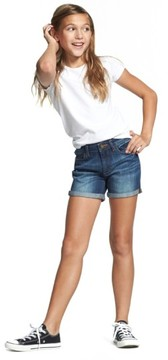 DL1961 Toddler Girl's 'Piper' Stretch Denim Shorts