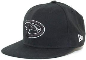 New Era Kids' Arizona Diamondbacks Mlb Black and White Fashion 59FIFTY Cap