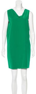 Bouchra Jarrar Silk Shift Dress