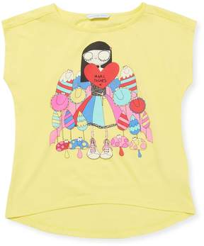Little Marc Jacobs Little Girl's Graphic Tee