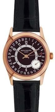 Patek Philippe Calatrava 6000R 18K Rose Gold 37mm Mens Watch