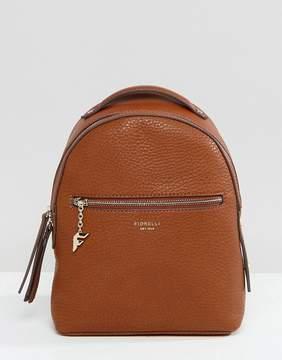 Fiorelli Mini Anouk Tan Tumbled Backpack
